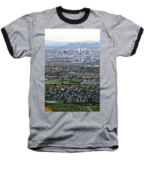 Sunrise Over Phoenix Arizona Baseball T-Shirt