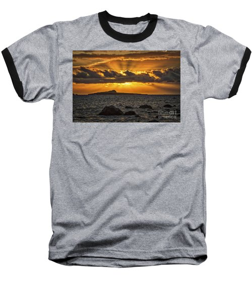 Baseball T-Shirt featuring the photograph Sunrise Over Rabbit Head Island by Mitch Shindelbower