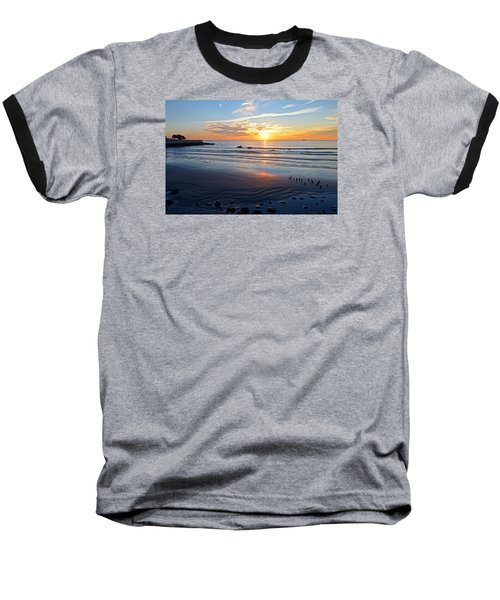 Sunrise Over Red Rock Park Lynn Shore Drive Baseball T-Shirt