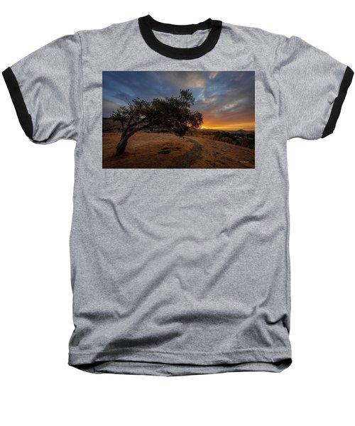 Sunrise Over San Luis Obispo Baseball T-Shirt
