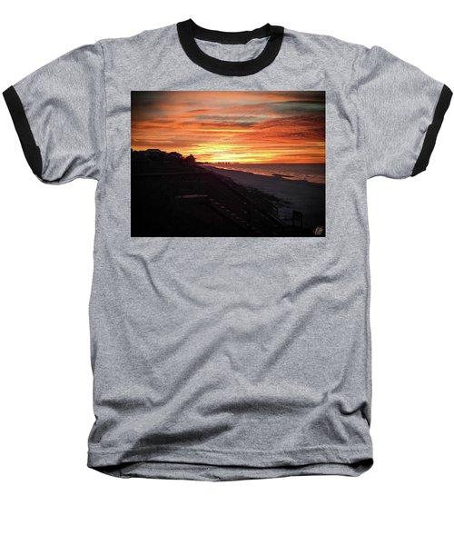 Sunrise Over Santa Rosa Beach Baseball T-Shirt