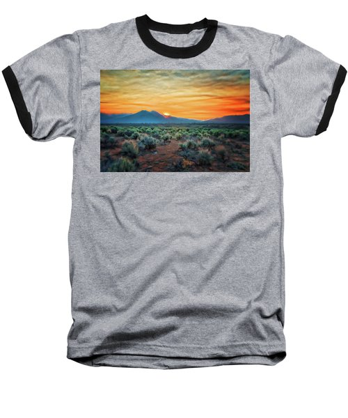 Sunrise Over Taos II Baseball T-Shirt