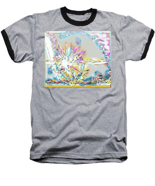 Sunrise Over The City Baseball T-Shirt