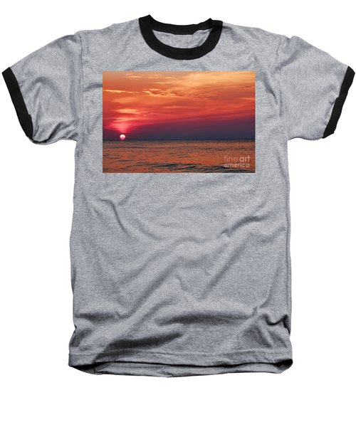 Sunrise Over The Horizon On Myrtle Beach Baseball T-Shirt