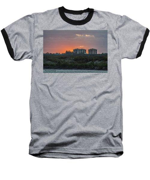 Sunrise Over The Intracoastal Baseball T-Shirt