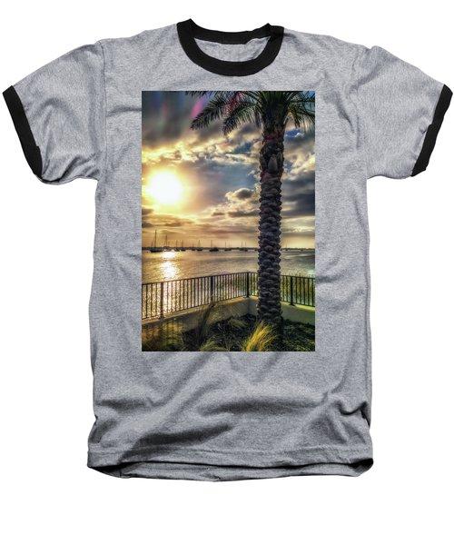 Sunrise Over The Matanzas Baseball T-Shirt
