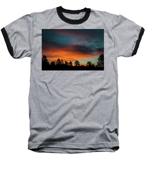 Sunrise Over The Southern San Juans Baseball T-Shirt by Jason Coward