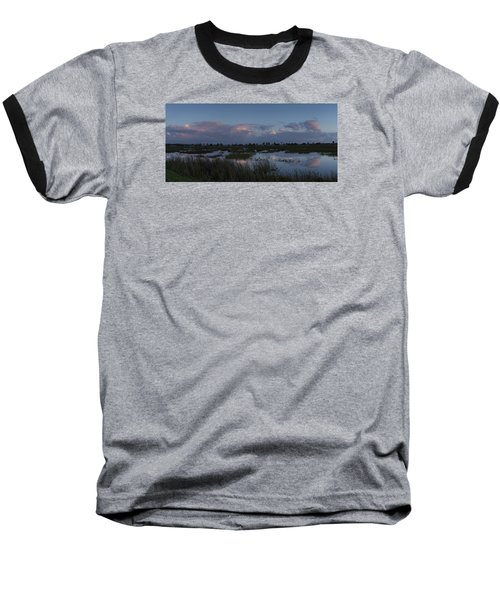 Sunrise Over The Wetlands Baseball T-Shirt