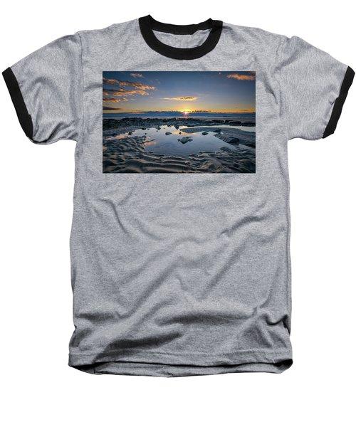 Baseball T-Shirt featuring the photograph Sunrise Over Wells Beach by Rick Berk