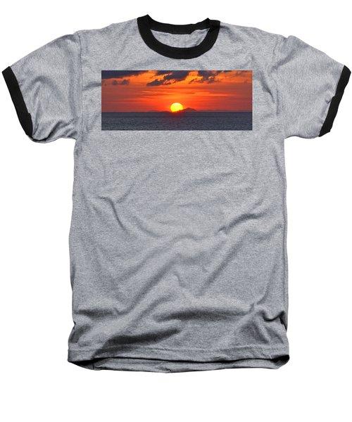 Sunrise Over Western Cuba Baseball T-Shirt