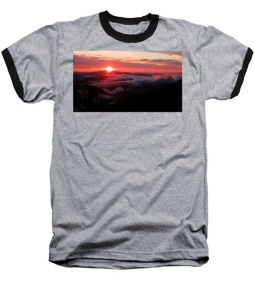 Sunrise Over Wyvis Baseball T-Shirt