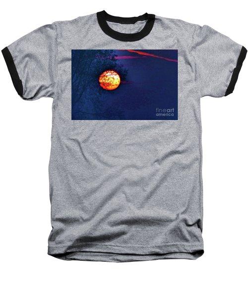 Sunrise Paint Baseball T-Shirt