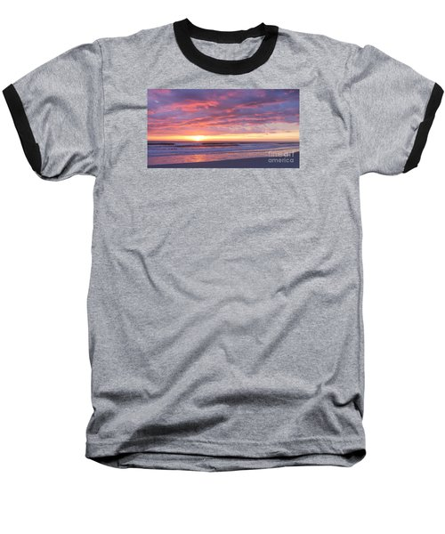 Sunrise Pinks Baseball T-Shirt