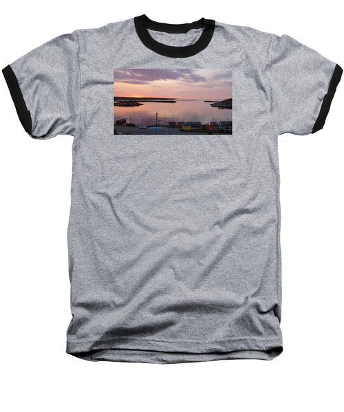 Sunrise Port Aux Basque, Newfoundland  Baseball T-Shirt