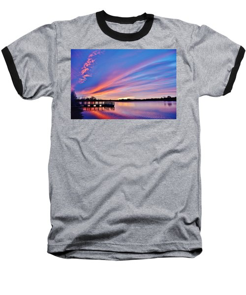 Sunrise Reflecting Baseball T-Shirt