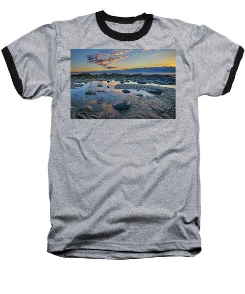 Baseball T-Shirt featuring the photograph Sunrise Reflections On Wells Beach by Rick Berk