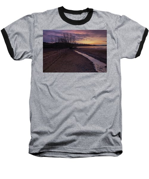 Sunrise, Rutland Water Baseball T-Shirt