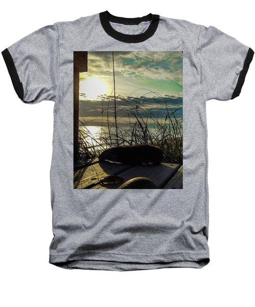 Sunrise Sea Shells Baseball T-Shirt
