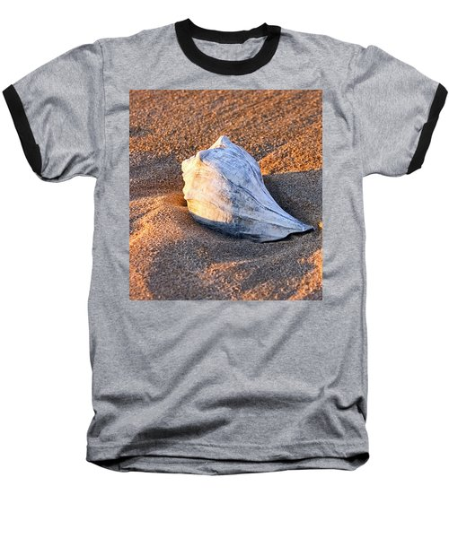 Sunrise Seashell Baseball T-Shirt