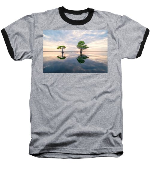 Sunrise Serenity Baseball T-Shirt