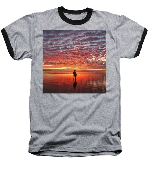 Sunrise Silhouette Baseball T-Shirt