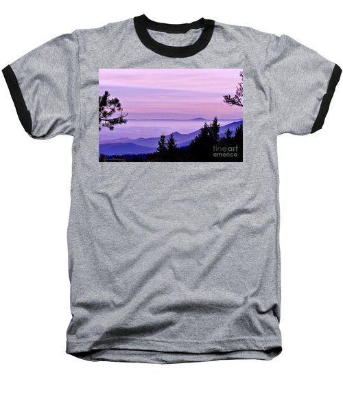Sunrise Silhouettes Baseball T-Shirt