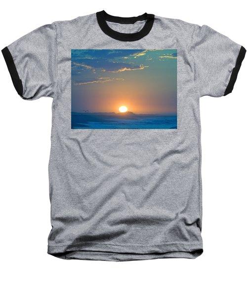 Baseball T-Shirt featuring the photograph Sunrise Sky by  Newwwman