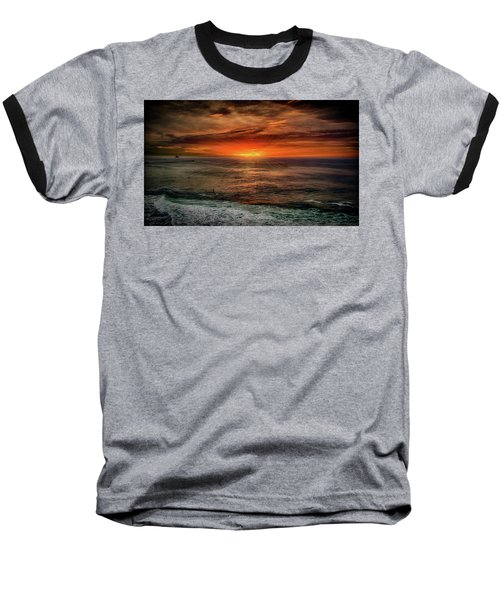 Sunrise Special Baseball T-Shirt by Joseph Hollingsworth
