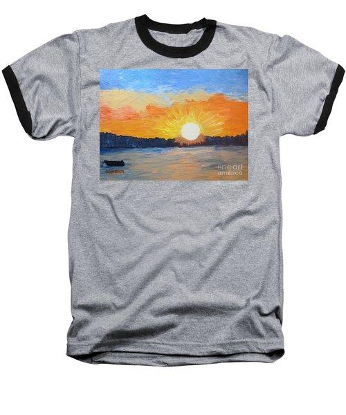 Sunrise Sensation Baseball T-Shirt