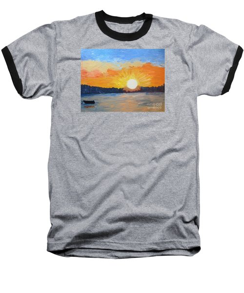 Sunrise Sensation Baseball T-Shirt