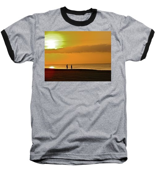Sunrise Stroll Baseball T-Shirt