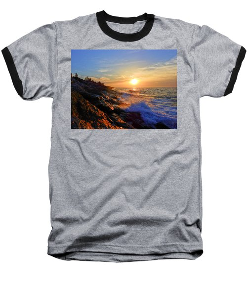 Sunrise Surf Baseball T-Shirt