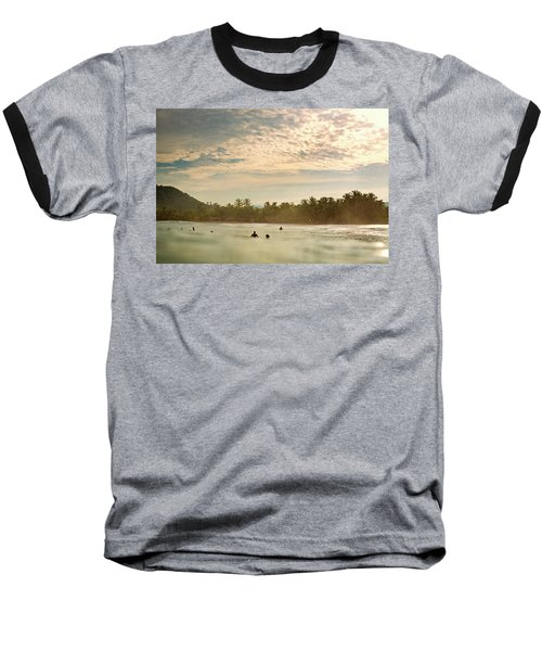 Sunrise Surfers Baseball T-Shirt