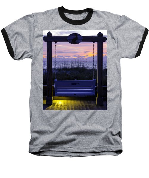 Sunrise Swing  Baseball T-Shirt