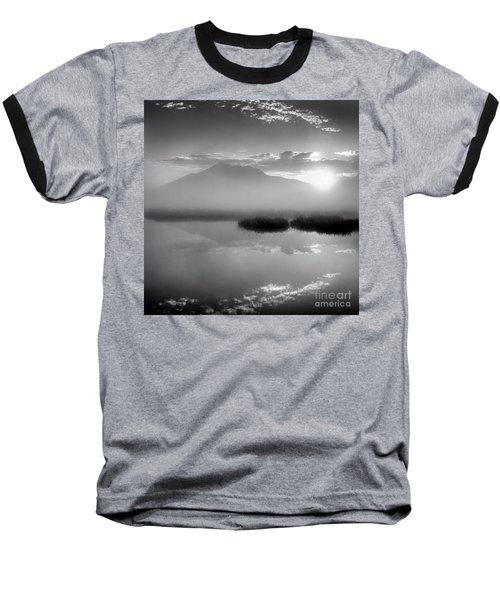 Baseball T-Shirt featuring the photograph Sunrise by Tatsuya Atarashi