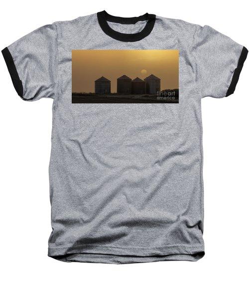Sunrise Through The Fog Baseball T-Shirt