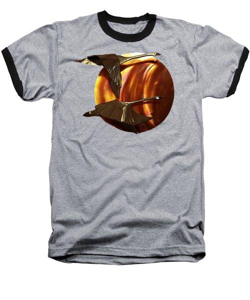 Sunrise Baseball T-Shirt by Troy Rider