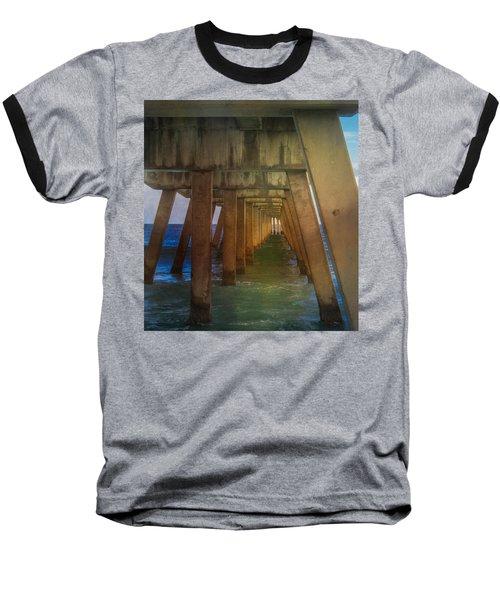 Sunrise Under The Pier Baseball T-Shirt