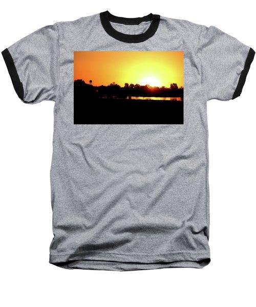 Sunrise Water Tower Baseball T-Shirt