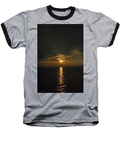 Sun's Reflection Baseball T-Shirt