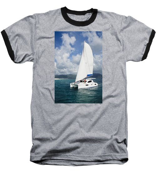 Sunsail Catamaran Baseball T-Shirt