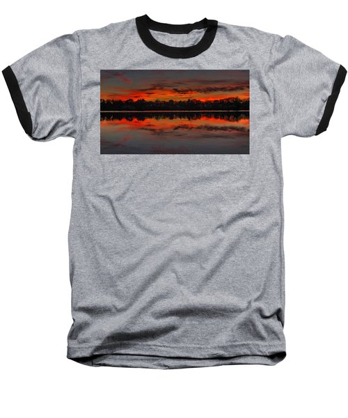 Sunset #1 Baseball T-Shirt