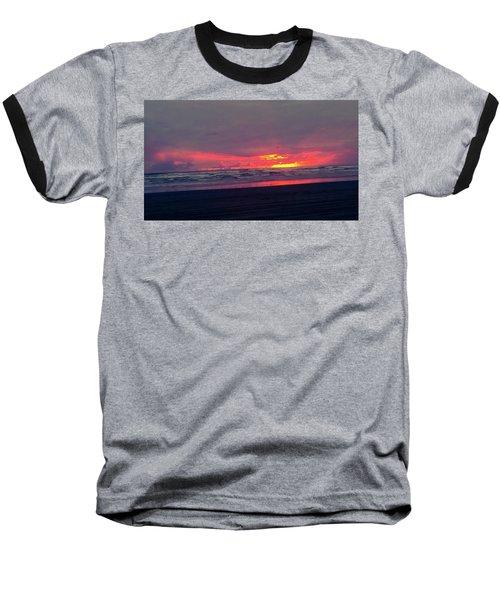 Sunset #1 Baseball T-Shirt