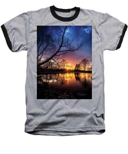 Sunset #10 Baseball T-Shirt