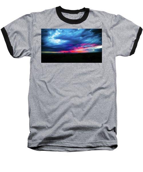 Sunset #2 Baseball T-Shirt