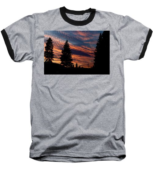 Sunset 2 Baseball T-Shirt