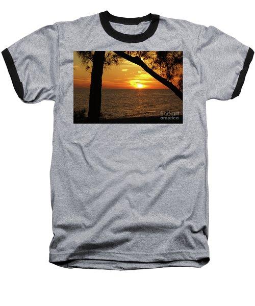 Sunset 2 Baseball T-Shirt
