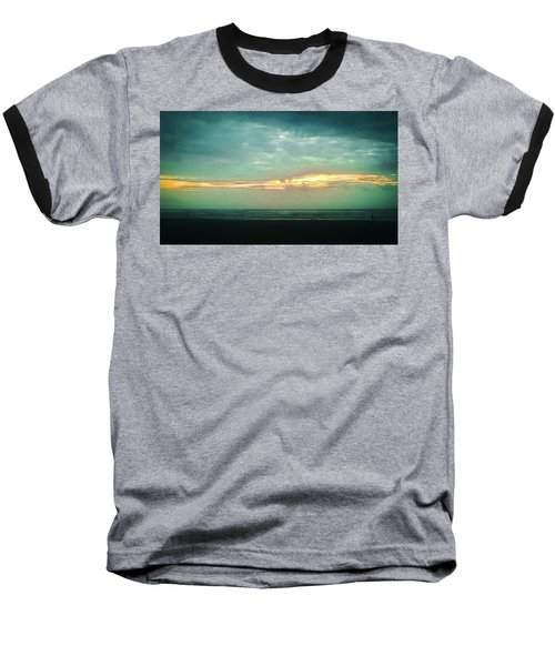 Sunset #4 Baseball T-Shirt