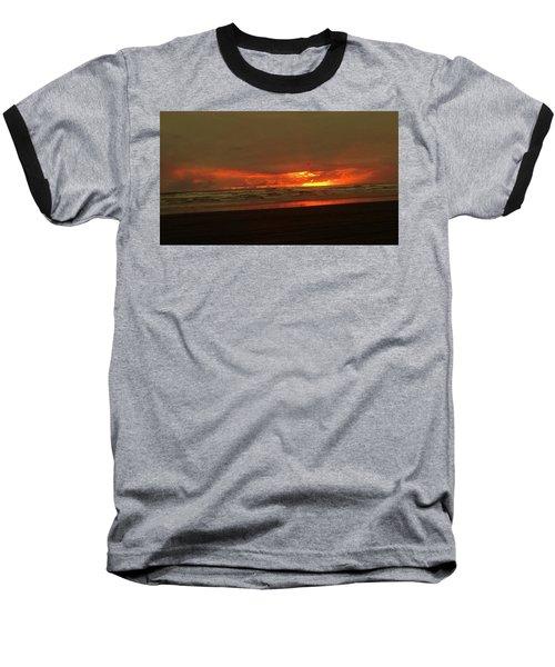Sunset #5 Baseball T-Shirt