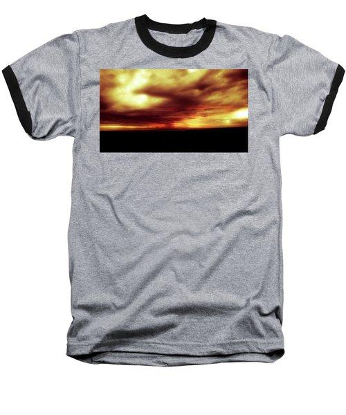 Sunset #6 Baseball T-Shirt